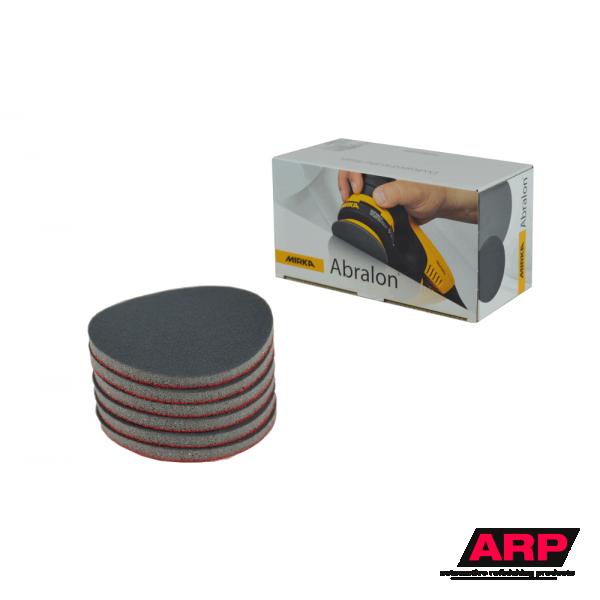 """Mirka ABRALON 3"""" Foam Grip Discs 20pcs/pk"""