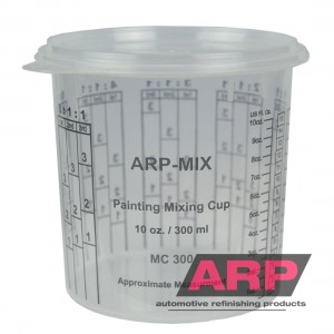 Mixing cups 300ml/10oz (100pcs/16Lids)
