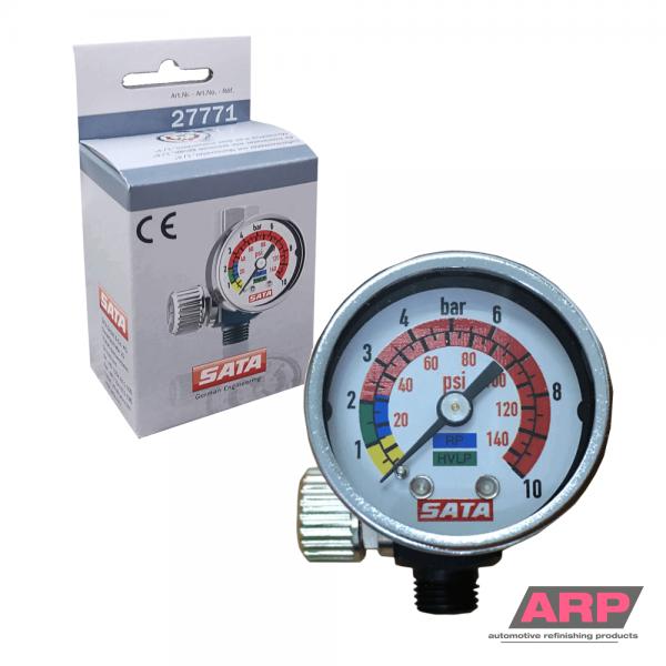 SATA Air Micrometer with gauge