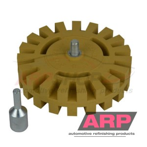 ARP Eraser Wheel with drill adapter 25mm