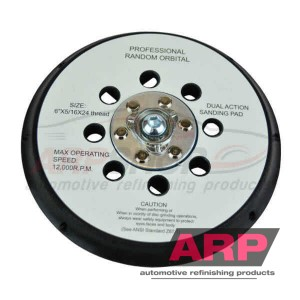 ARP Multi-Holes 6 inch Back-up Pad #169329