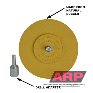 ARP Eraser Wheel with drill adapter 15mm