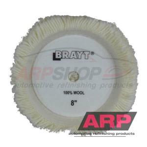 "BRAYT Wool Polishing Pad  8"""