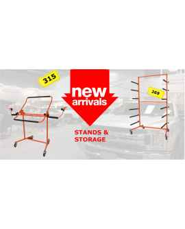 New arrival of stands for body shop!