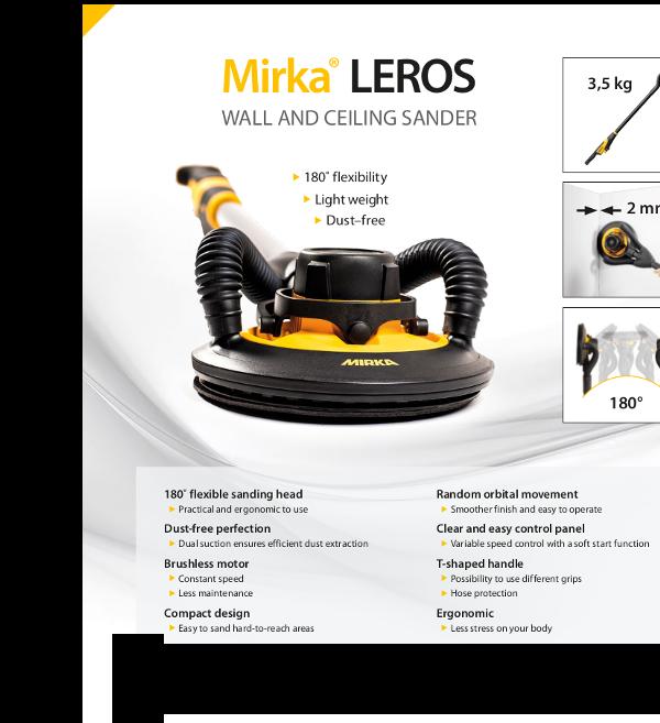 MIRKA LEROS Dust Free Solutions Kit