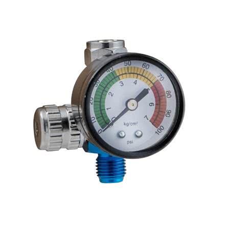 spray gun inlet pressure